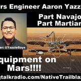 AWESOME Native #MarsLanding Engineer Aaron Yazzie!