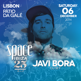 Javi Bora DJ Set - Space Ibiza 25th Anniversary Tour @ Pátio Da Galé (Lisbon, Portugal) 06.12.2014