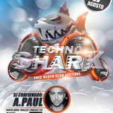 A.Paul - Live Set - Techno Shark @ Ponto N, Nazare, PT - 17.08.2012