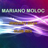 Mariano Moloc - 'Almost Holidays' Club Mix [January 2014]