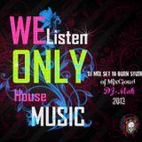 DJ mix set to Burn studios of DJ-Mok