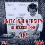 Kristofer - Unity in Diversity 453 (live) @ Radio DEEA (16-09-2017)