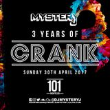 @DJMYSTERYJ | 3 Years of @CrankEvent | 30/04/17 101 Nightlcub Birmingham
