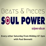 Beats & Pieces on SoulPower Radio 28th July 2018