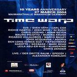 Sven Väth @ Time Warp 2004 / 10 Years Anniversary - Maimarkthalle Mannheim - 27.03.2004