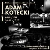 4# 2019.01.05 LiveSet Klubokawiarnia_KEN54 [IDM, downtempo, synth-pop]