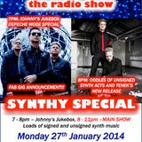 THE JOHNNY NORMAL RADIO SHOW 36 - 27TH JANUARY 2014