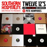 Twelve 12's Live Vinyl Mix: 63 - Pete Humphries - Julio Bashmore Special!