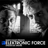 Elektronic Force Podcast 034 with Spektre