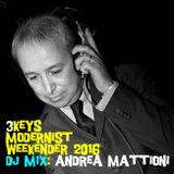 3Keys Modernist Weekender 2016 - Andrea Mattioni - DJ Profile