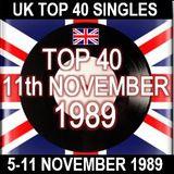 UK TOP 40: 05-11 NOVEMBER 1989