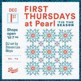 Steven Lee Moya Live: First Thursday Holiday Market