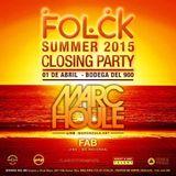 Fab @ Folck Summer Closing, Mendoza 01.abr.2015 (set de cierre)