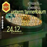 DJ WOODY - DJ Hazel B - unterm tannenbaum - 24.12.1994 - E-WERK BERLIN – Tape A (1)