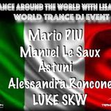 Alessandra Roncone - Guestmix to Trance Around The World With Lisa Owen World Trance DJ Event