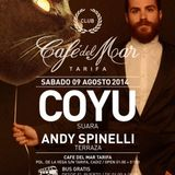 """Andy Spinelli """"Love Terrace"""" @ Live at Café del Mar 09-08-14"""