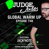 JUDGE JULES PRESENTS THE GLOBAL WARM UP EPISODE 748