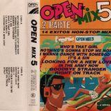 """Open Mix 5 2ª Parte """"Cara A"""". 1987. Adolfo Pistas, Fernando Empalmes, J.M Tijeras, Juanjo Sampler."""