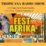"""Tropicana Radio Show - Fest Afrika """"Voices to be Heard"""" Special - 21/06/2017"""