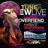 Audiofields on EW Live From New York - BASSDRIVE RADIO 27-04-19 - BIRTHDAY SPECIAL