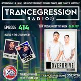 OverDrive on Trancegression 414 Kiss Fm Dance Music Australia 27/01/17