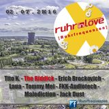 -006- Ruhr in Love 2016 - The Riddick - Tech-House Classic Edition (Ruhrfrequenzen Techno Podcast)