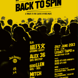 Mitch @ BACK TO SPIN 8th