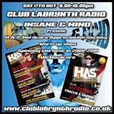 "Insane & Mind ""Live"" Club Labrynth Radio Oct 2015"