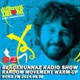 Bladerunnaz Radio Show w/ RANDOM MOVEMENT WARM-UP mix by Mentalien @ RCKO.FM 2014.09.08