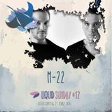 M-22 @ Liquid Sunday #12 - 27.03.16
