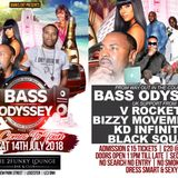 BASS ODYSSEY COMES TO TOWN - 14-7-18 - V. ROCKET, BASS ODYSSEY + MORE