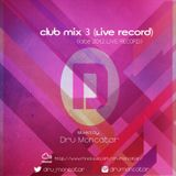 Club Mix 3 (Live Record) Late 2012.
