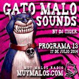 GATO MALO Sounds. Show 13. 17-07-2014. muymalos.com