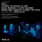 Nicole Moudaber b2b Victor Carlderone  -  Live At Moodday, Raleigh HOTEL (WMC 2015, Miami)  - 26-M