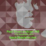 Paul Stuart – back2backfm.net – 17th November 2014
