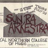 Sun Ra Arkestra  RNCM  29 7 1982 ,Walkman recording  side 3 of 2 x C90 Cassettes