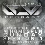 Episode 58: A Homespun Sunday Session 1 (Side B, August 2014)