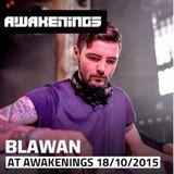 Blawan live @ Awakenings presents Electric Deluxe Special (ADE 2015) - 18-10-2015