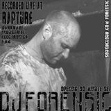 Dj Forensic Live at Rapture, STL