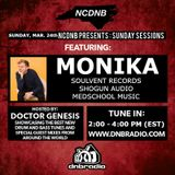 NCDNB Sunday Sessions - 03/24/19 - Monika Guest Mix