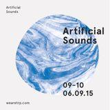 ARTIFICIAL SOUNDS - JUNE 9 - 2015