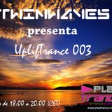 Twinwaves pres. UplifTrance 003 (22-03-2013)