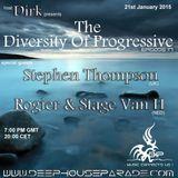 Dirk - Host Mix - The Diversity Of Progressive 17 (21st Jan. 2015) on www.deephouseparade.com