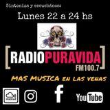 Programa 1 Más Música en las Venas Radio Pura Vida Lunes 07.08