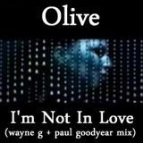 OLIVE - I'm Not In Love (wayne g + paul goodyear mix) Unreleased Promo Bootleg (2000) Hi-NRG Italo