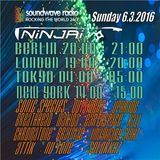 Podcast for Soundwave Radio rocking the World 24/7 >>> mixed by Ninjai 6.3.2016