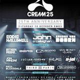 Will Atkinson Live @ Cream 25th Anniversary @ SWG3, Glasgow, Scotland 28-10-2017