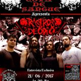 Programa Cova de Sangue - #26 - Entrevista com a Banda Rastros De ódio (21.06.2017)