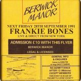 Frankie Bones - Berwick Manor, Essex - 28.9.91