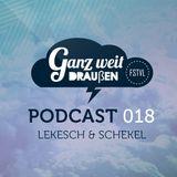 GWD Podcast 018 - Lekesch & Schekel 08-05-15